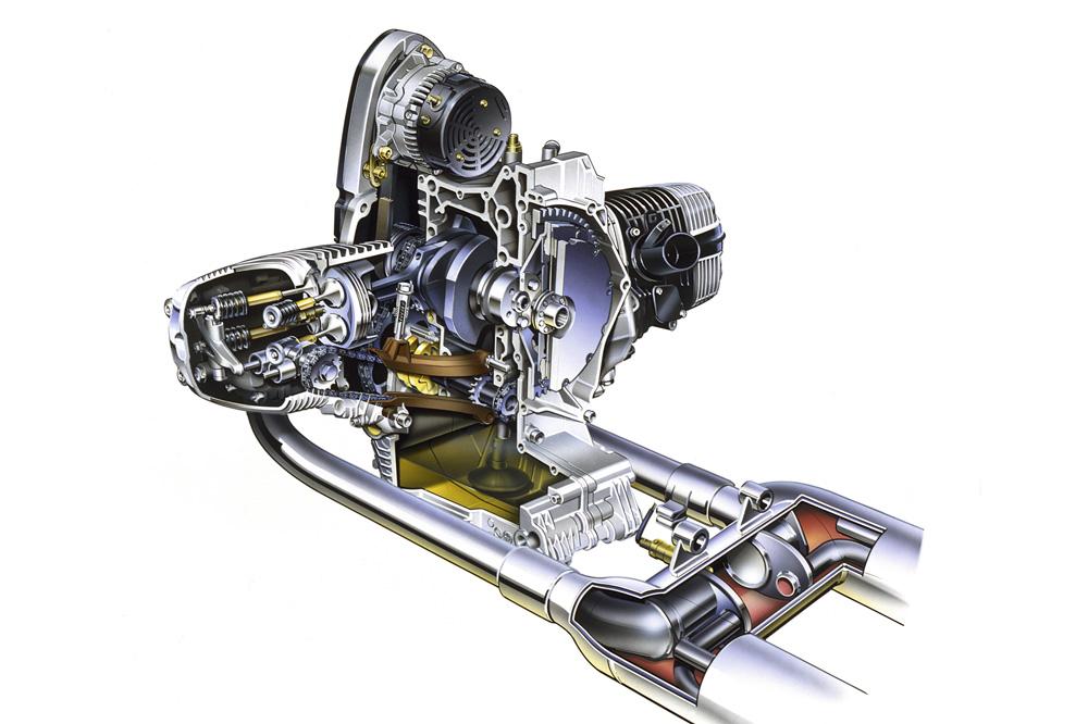 BMW instaló el catalizador en sus motos