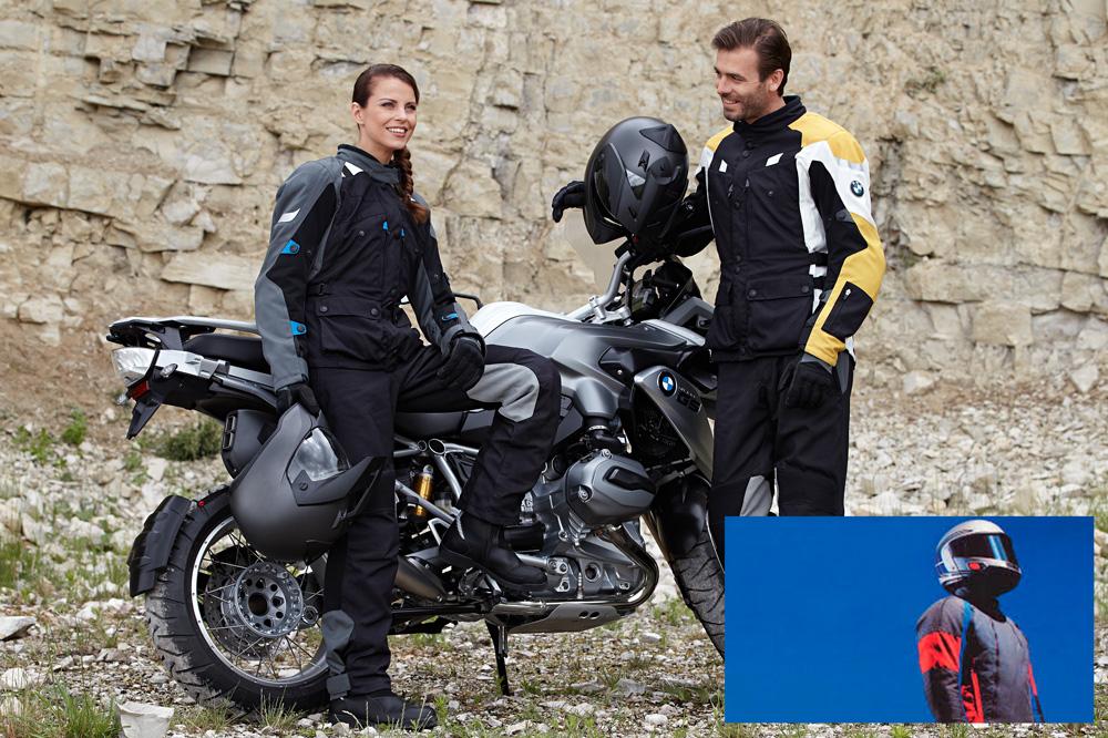Trajes BMW para moto con Goretex
