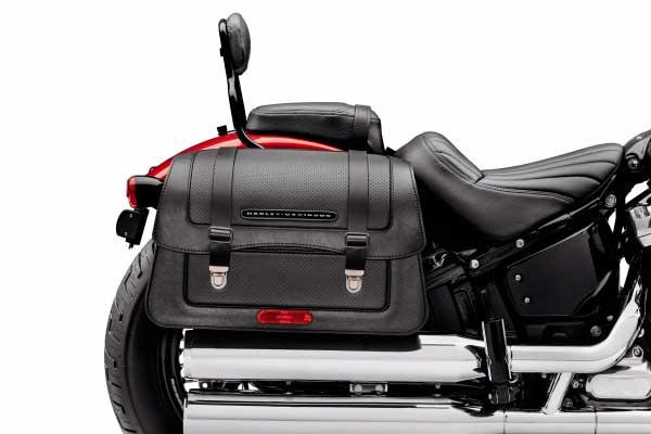 Asiento para el copiloto y maletas Harley Davidson