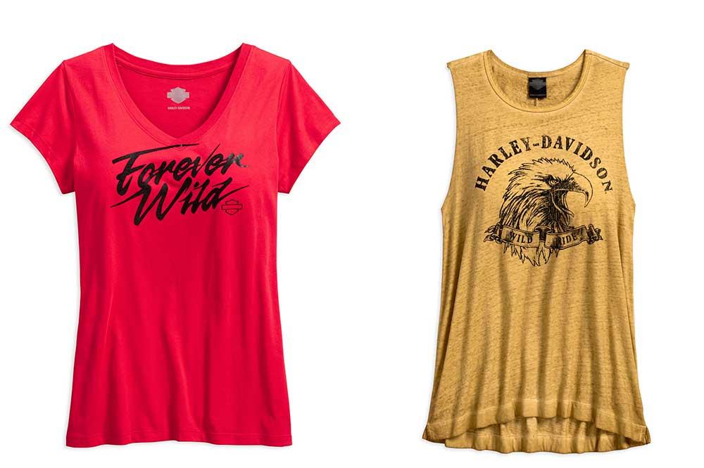 Camisetas Harley-Davidson