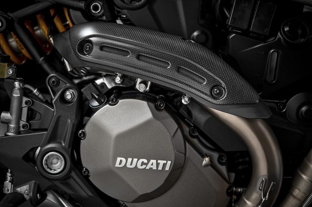 Protectores del escape de la Ducati Monster 1200 25 aniversario