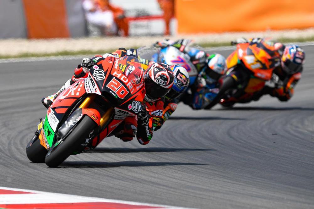 Fabio Quartararo dominó la carrera de Moto2 de principio a fin