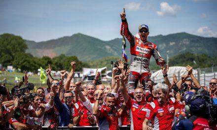 Jorge Lorenzo vence y ¿se va de Ducati?