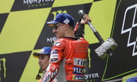 El «martillo» de Jorge Lorenzo en el GP de Cataluña