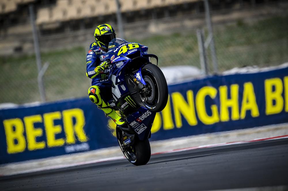 El nuevo podio de Rossi en el GP de Cataluña le afianza en la segunda posición provisional del Mundial de MotoGP