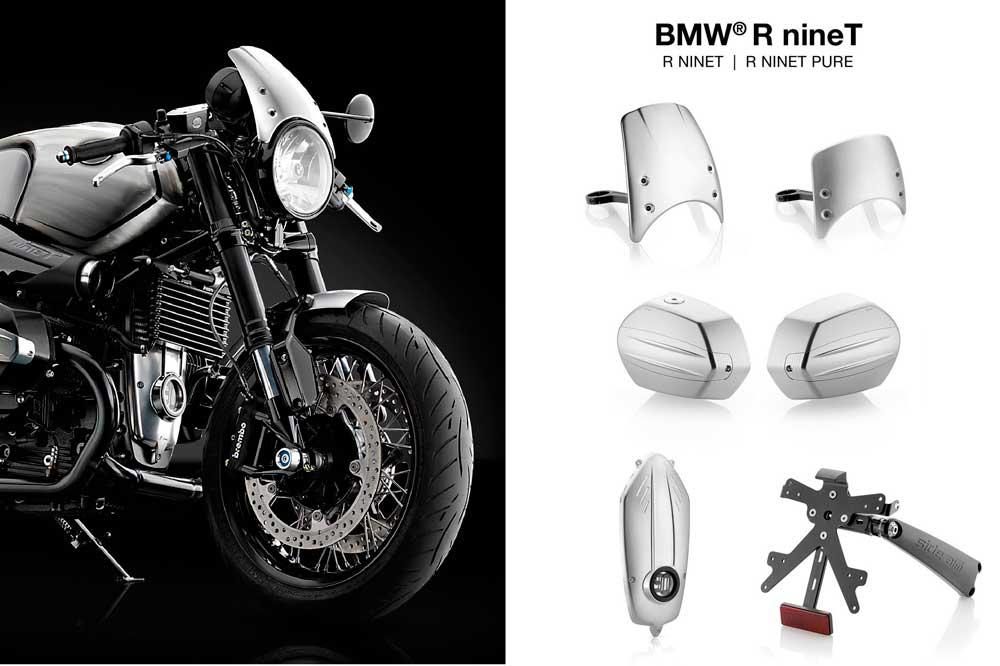 Accesorios Rizoma para la BMW R nineT
