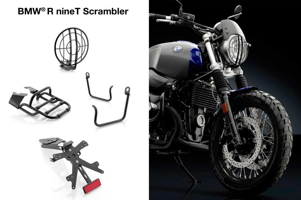 Accesorios Rizoma para la BMW R nineT Scrambler