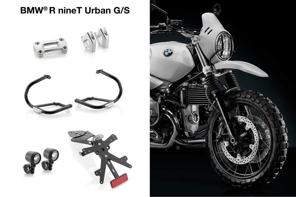 Accesorios Rizoma para la BMW R nineT Urban G/S