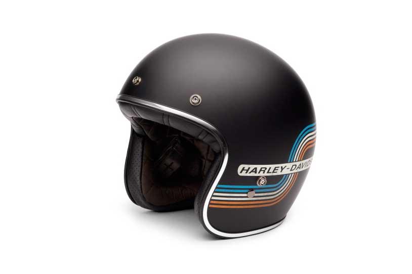 Casco jet Harley Davidson