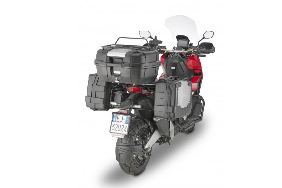 HONDA X-ADV con maletas Garda