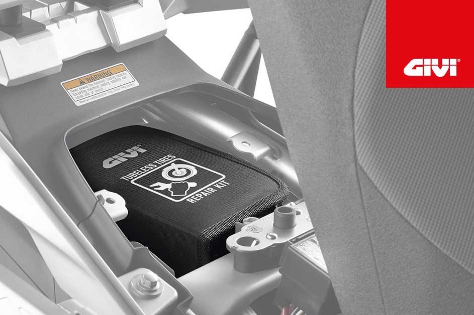 Kit repara pinchazos neumáticos S450 de Givi