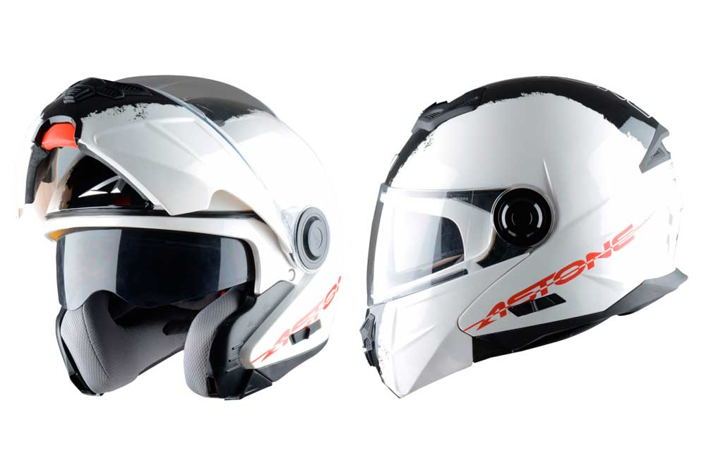 Casco modular RT800 Stripes de Astone