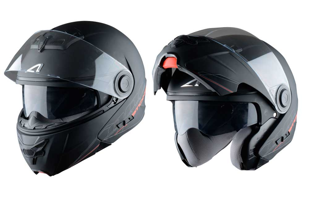 Casco modular RT800 Sadow de Astone