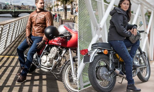 Vaqueros para moto Monza y Stradale de Overlap