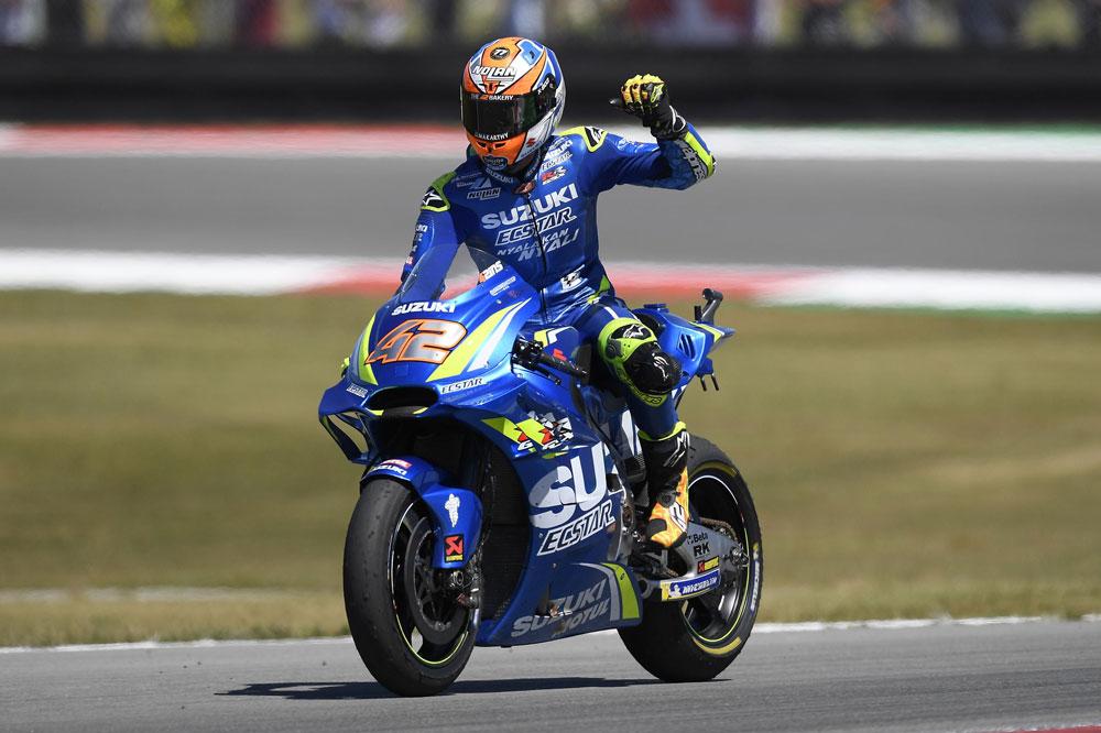 Alex Rins logró su mejor carrera hasta la fecha en MotoGP en el GP de Holanda