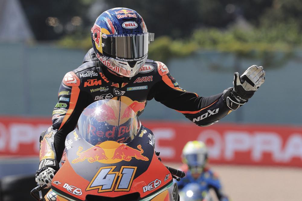 Brad Binder logró su primera victoria en Moto2 en el GP de Alemania