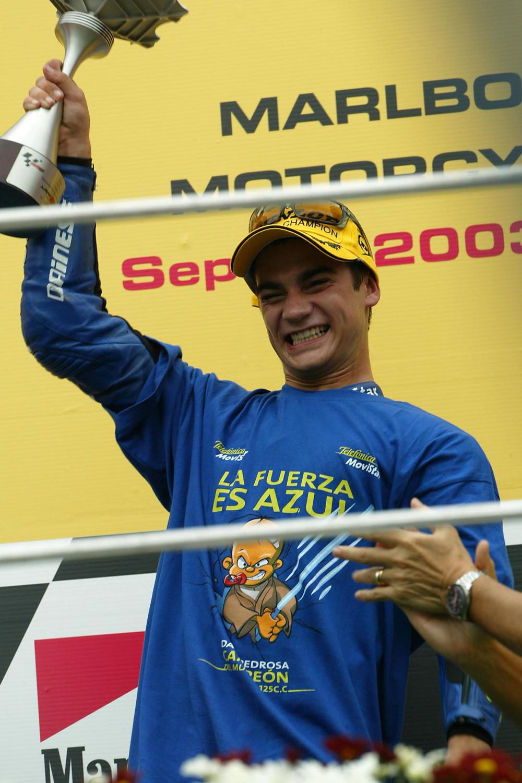 Tres títulos mundiales para Dani Pedrosa