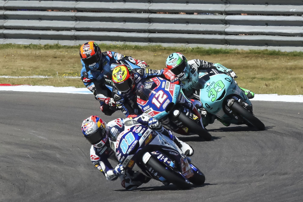 Jorge Martín, victoria en el GP de Holanda en la categoría Moto3