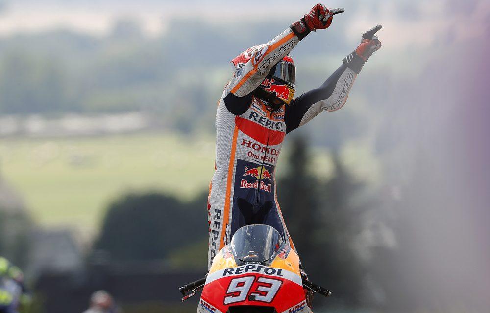 MotoGP Alemania: Márquez domina una carrera estratégica