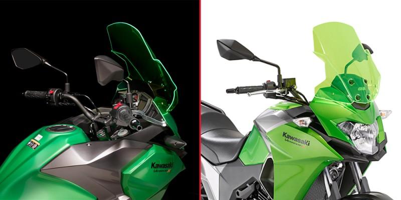Parabrisas Lima Green de Kappa para Kawasaki