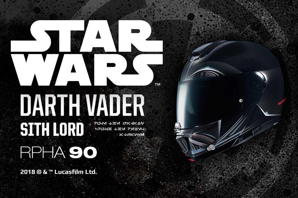 Casco modular RPHA 90 Darth Vader de HJC