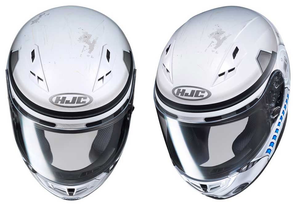 Casco integral CS-15 Starwars Storm Trooper de HJC