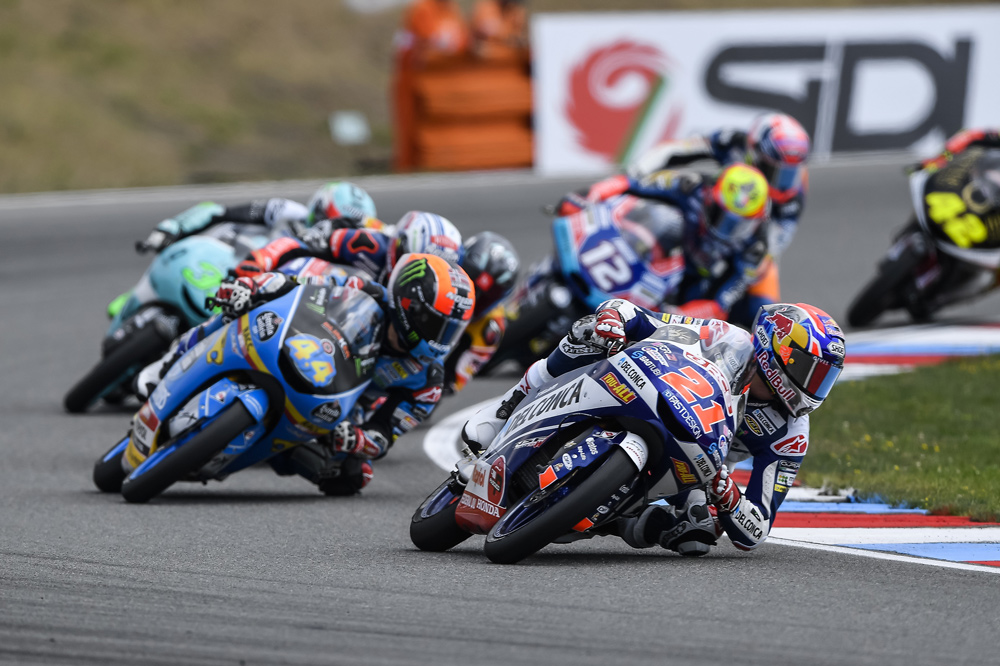 Fabio di Giannantonio logró su primera victoria en Moto3 en República Checa