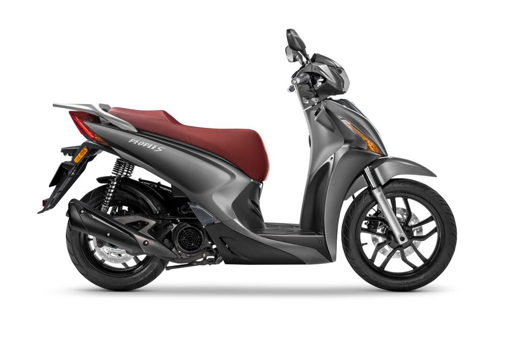 El KYMCO People S 125 es el scooter de rueda alta mejor equipado de la marca