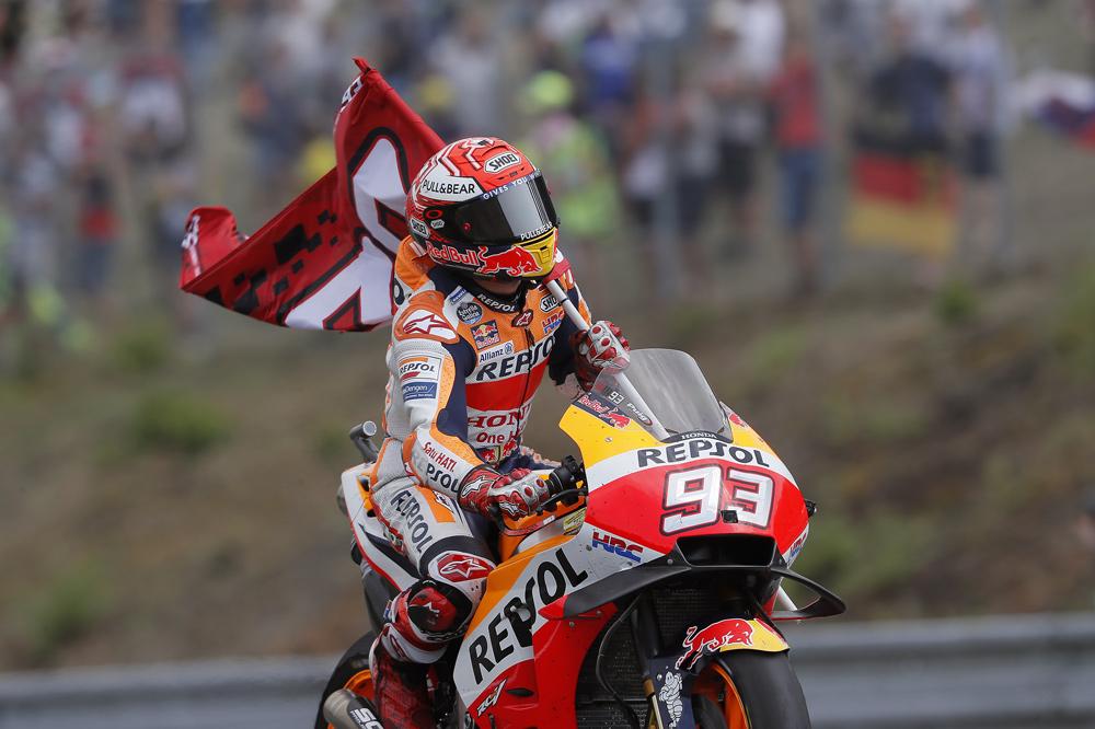 Con ésta ya son 100 carreras las disputadas por Marc Márquez en MotoGP