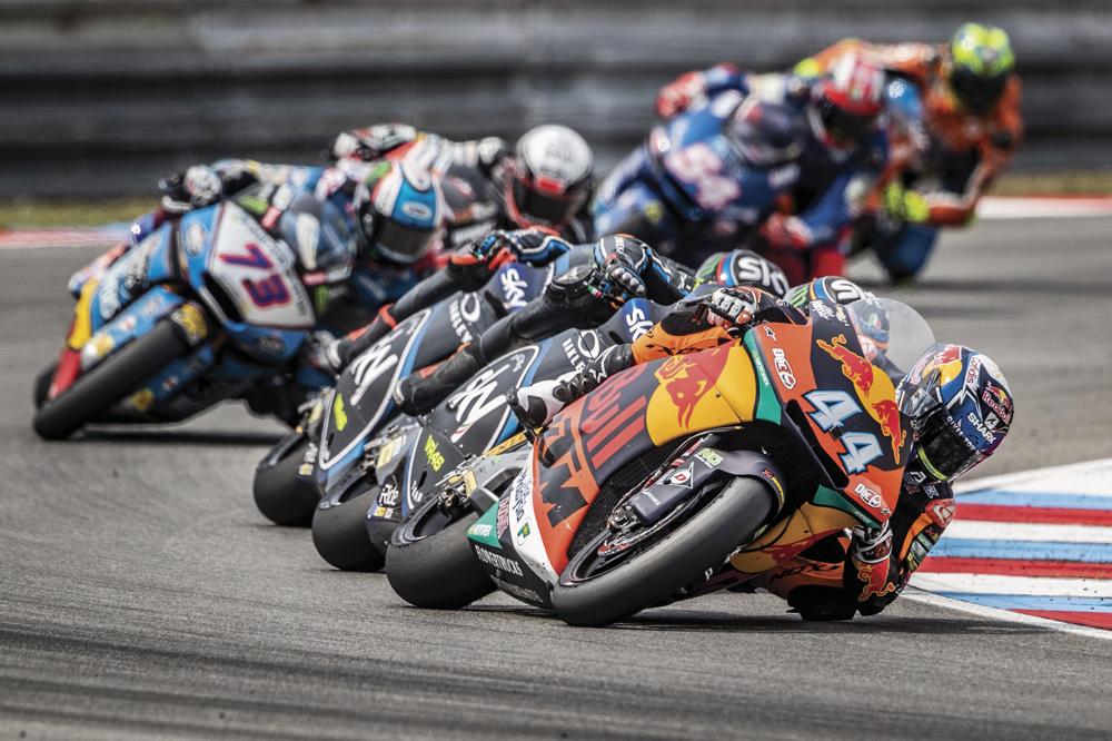 Miguel Oliveira, logró la victoria en Moto2 en el GP de Republica Checa