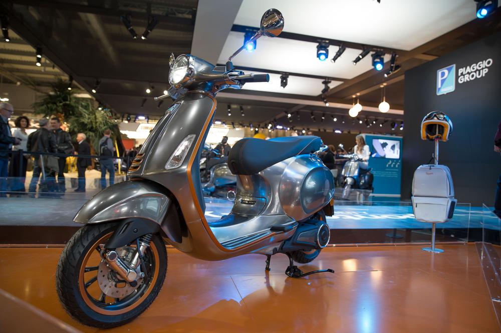 El prototipo de la Vespa Eléctrica se presentó en el Salón de Milán en 2017