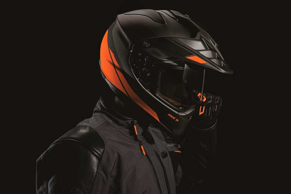 Cascos Shoei Hornet Adventure de KTM
