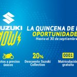 Regresa Suzuki Now, la quincena de oportunidades