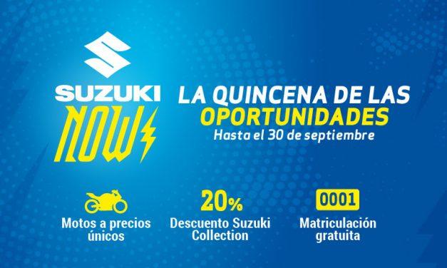 Regresa Suzuki Now, la quincena de oportunidades