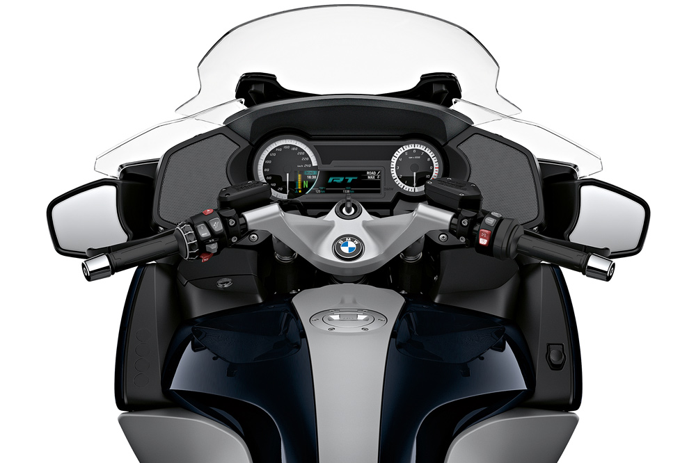 Cuadro de instrumentos de la BMW R 1250 RT