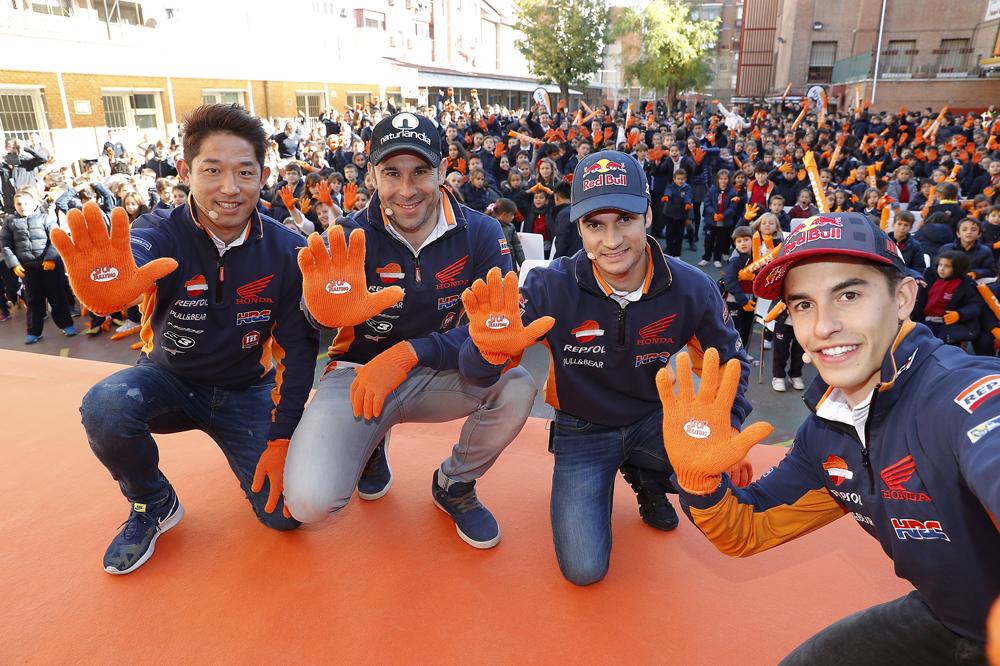 Fujinami, Bou, Pedrosa y Marc Márquez