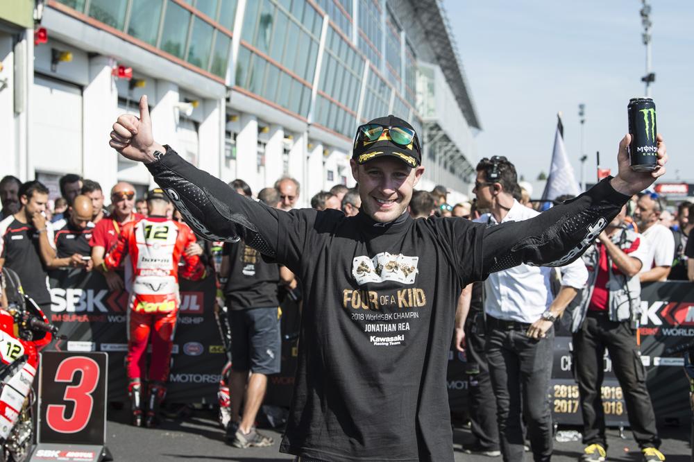 Jonathan Rea: Campeón del Mundo SBK 2018