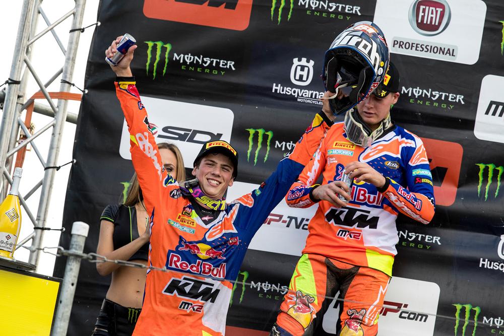 Jorge Prado, Campeón del Mundo de Motocross MX2