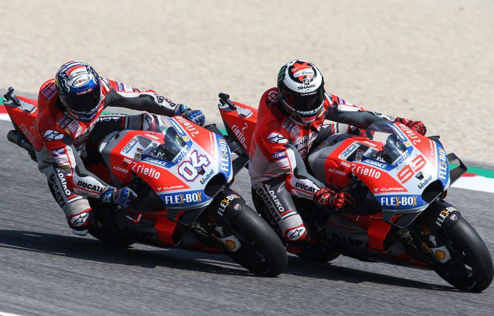 MotoGP Misano: Victoria de Dovizioso, caída de Lorenzo