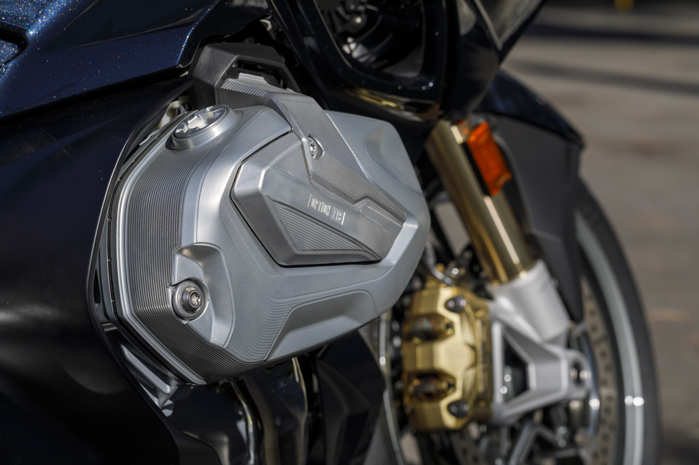 Motor Boxer BMW Moto de 2019 con distribución variable