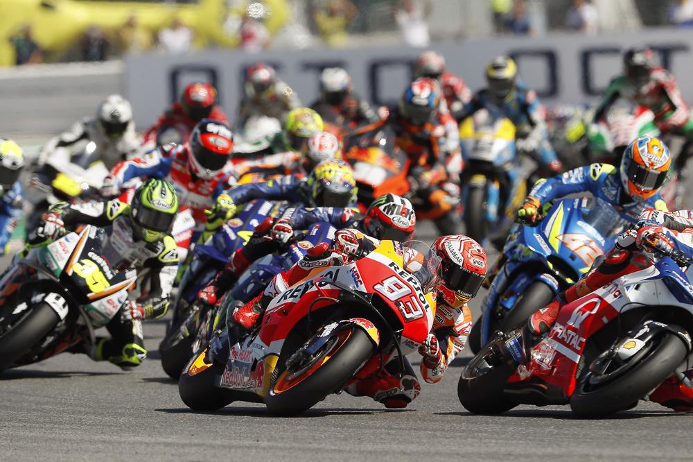 Salida MotoGP en el Gran Premio de San Marino