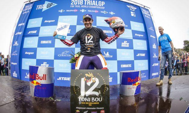Toni Bou sigue haciendo historia en el Mundial de Trial
