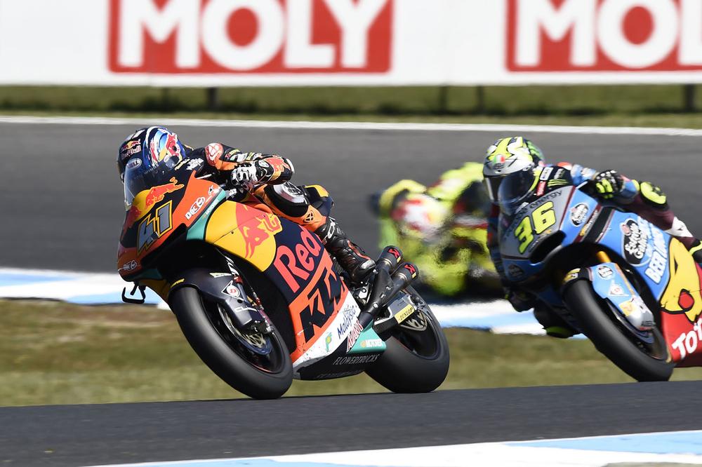 Victoria de Brad Binder en Moto2 en el GP de Australia