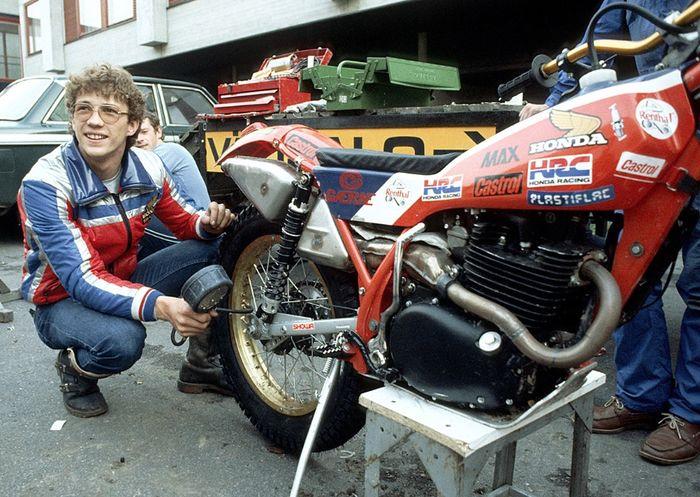 Eddy Lejeune fue Campeón del Mundo de Trial con Honda