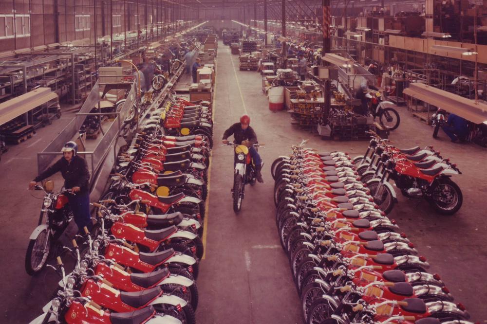 Fabrica de Montesa en Esplugues de Llobregat 1977