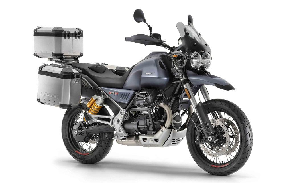 Moto Guzzi V85 TT: Trail con V transversal
