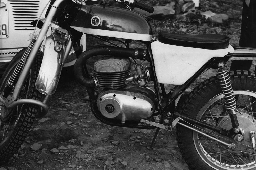 Prototipo Montesa Trial 250 de 1967 con horquilla Earles