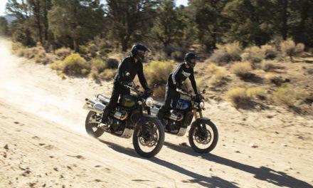 Triumph Scrambler 1200: Trail clásico en dos sabores