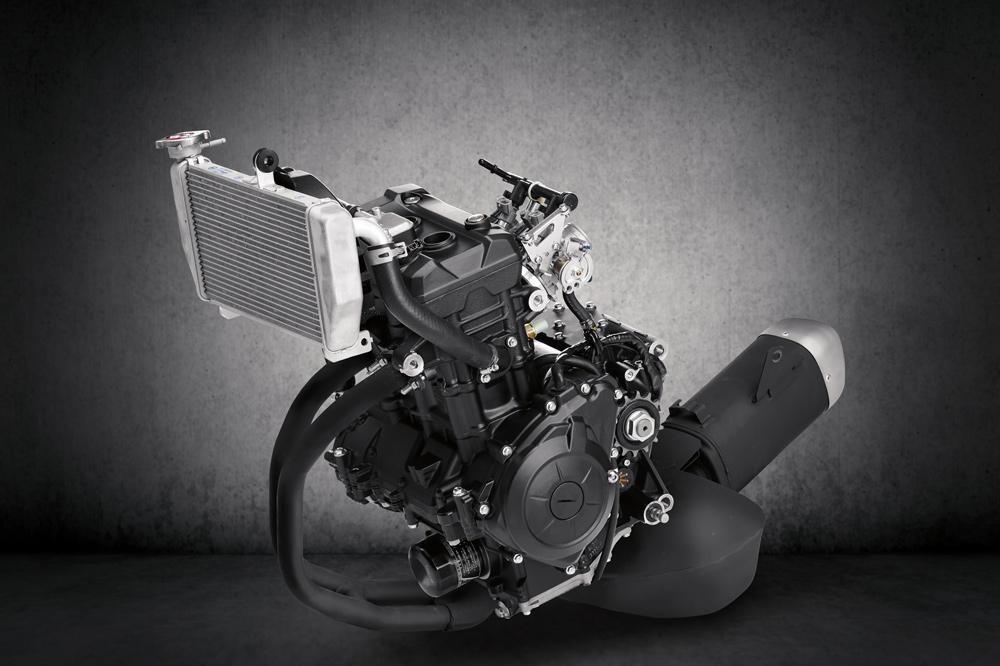 Yamaha YZF R3 2019 Motor