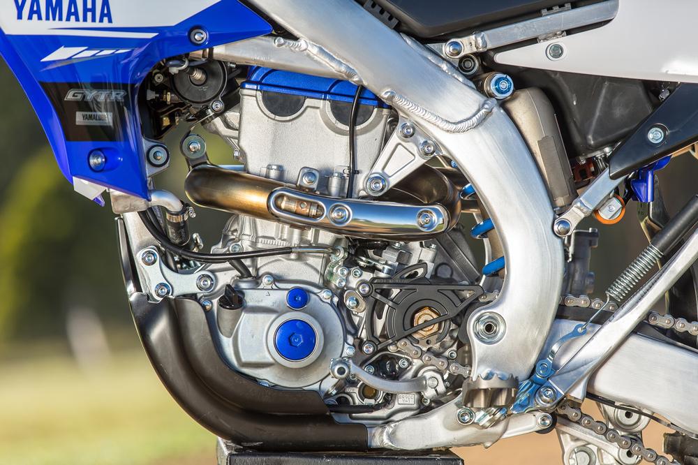 Motor de la Yamaha WR 450F 2019
